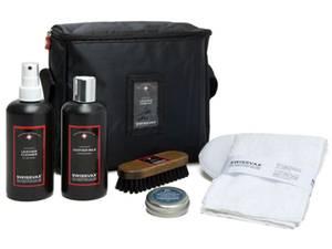 Bilde av  Swissvax Leather Care Kit Forte - Skinnpleiesett